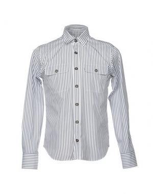 Pубашка VANGHER N.7. Цвет: белый