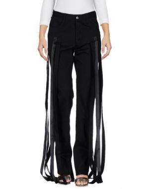 Джинсовые брюки NICOPANDA. Цвет: черный