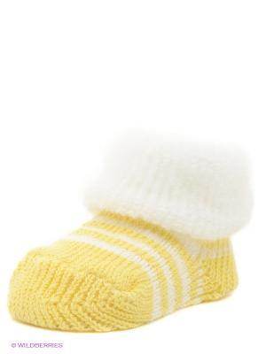 Носки Luvable Friends. Цвет: желтый