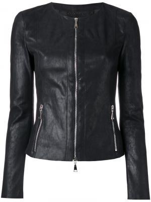Пиджак на молнии Drome. Цвет: чёрный