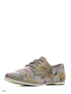 Ботинки S.OLIVER. Цвет: светло-голубой