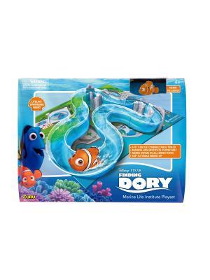 Интерактивная игрушка роборыбка-Немо и набор с треком ZURU. Цвет: оранжевый, голубой