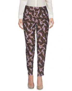 Повседневные брюки KING KONG. Цвет: светло-коричневый