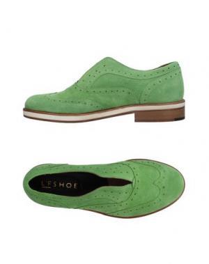 Мокасины L'F SHOES. Цвет: зеленый