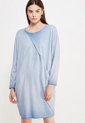 Платье Tantra. Цвет: голубой