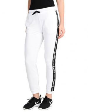 Повседневные брюки DIMENSIONE DANZA. Цвет: белый