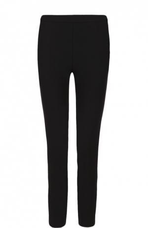 Укороченные брюки-скинни с завышенной талией Elizabeth and James. Цвет: черный