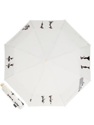 Зонт складной EMME M386-OC Coco Beige. Цвет: бежевый