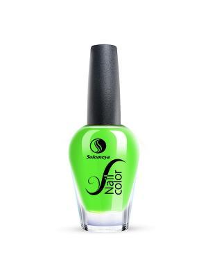 Лак для ногтей Тон CH02 Мохито SOLOMEYA. Цвет: зеленый