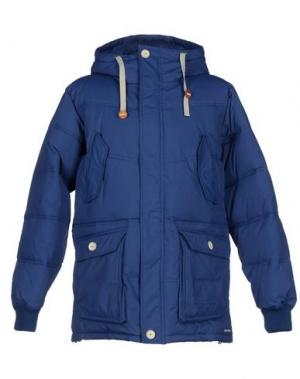 Куртка ELVINE. Цвет: синий