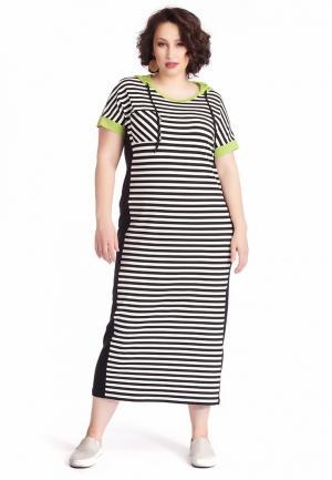 Платье Averi. Цвет: разноцветный