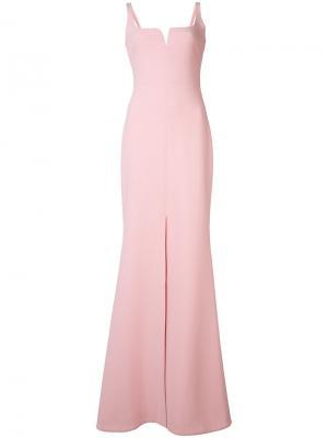 Длинное вечернее платье Likely. Цвет: розовый и фиолетовый