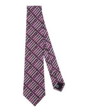 Галстук MP MASSIMO PIOMBO. Цвет: розовато-лиловый