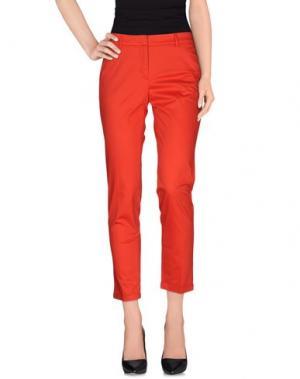 Повседневные брюки ARGONNE. Цвет: красный