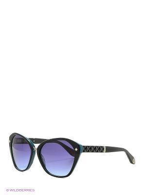 Солнцезащитные очки BLD 1609 101 Baldinini. Цвет: черный, синий