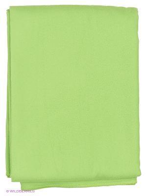 Полотенце Mad Wave. Цвет: зеленый