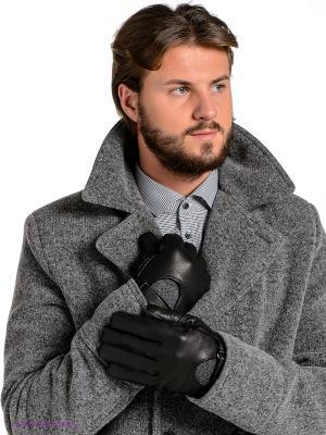 Перчатки Eleganzza. Цвет: черный, темно-серый