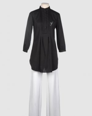 Блузка SEVEN7. Цвет: черный