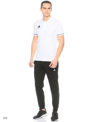Футболка-поло Tiro 17 Polo Adidas. Цвет: белый