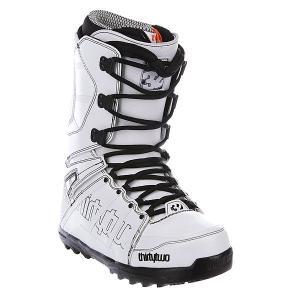 Ботинки для сноуборда  Lashed 13 White Thirty Two. Цвет: белый