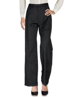 Повседневные брюки MARIO BORSATO. Цвет: черный