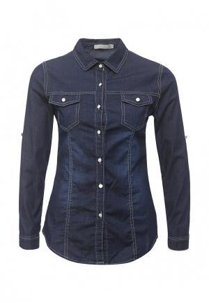 Рубашка джинсовая By Swan. Цвет: синий