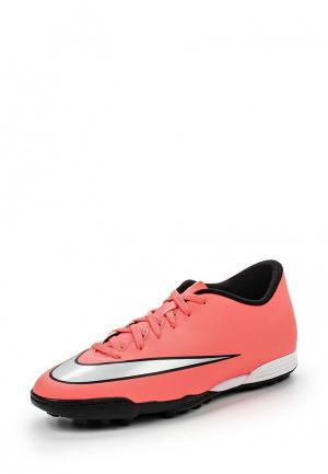Шиповки Nike. Цвет: коралловый