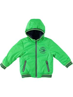 Куртка IDO. Цвет: темно-синий, зеленый