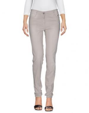 Джинсовые брюки TAIFUN. Цвет: светло-серый