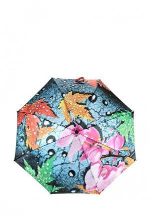 Зонт складной Flioraj. Цвет: разноцветный