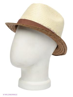 Шляпа Canoe. Цвет: коричневый, бежевый