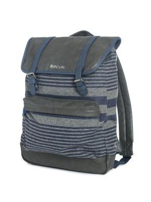 Рюкзак  LINARES DOME Rip Curl. Цвет: серый, синий