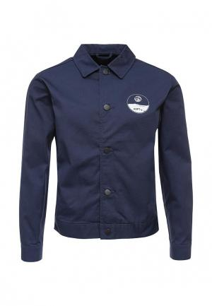 Куртка ADPT. Цвет: синий