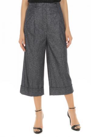 Расклешенные брюки с карманами SPORTMAX CODE. Цвет: синий