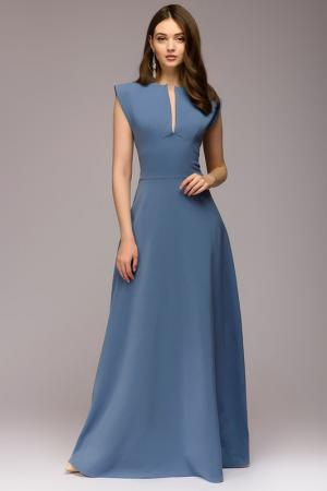 Платье 1001dress. Цвет: голубой
