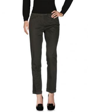 Повседневные брюки WEBER. Цвет: темно-зеленый