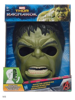 Маска халка Hasbro. Цвет: зеленый