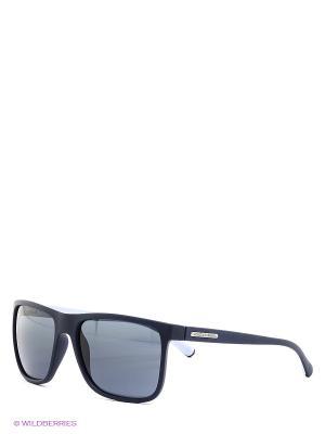 Очки солнцезащитные OVER-MOLDED RUBEBR DOLCE & GABBANA. Цвет: темно-синий