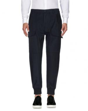 Повседневные брюки HELMUT LANG. Цвет: темно-синий