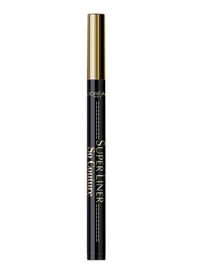 Суперлайнер для глаз So Couture, черный, 6 г L'Oreal Paris. Цвет: черный