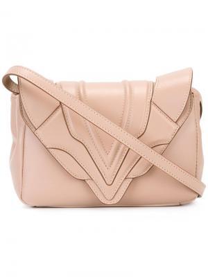 Sensu crossbody bag Elena Ghisellini. Цвет: розовый и фиолетовый