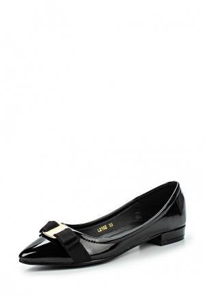 Туфли Damerose. Цвет: черный