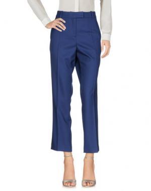 Повседневные брюки RACIL. Цвет: темно-синий
