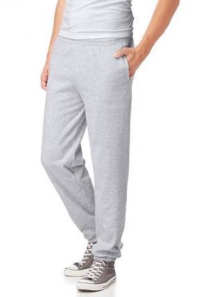 Тренировочные брюки, Fruit Of  Loom THE. Цвет: серый меланж