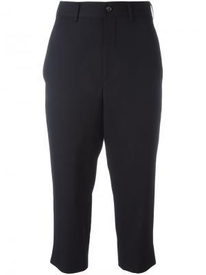 Укороченные брюки Comme Des Garçons. Цвет: синий