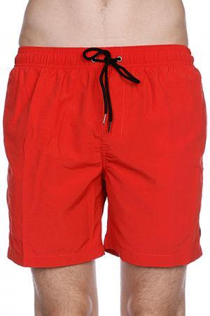Пляжные мужские шорты  Dana Ii Pool Short Red Clay Globe. Цвет: красный