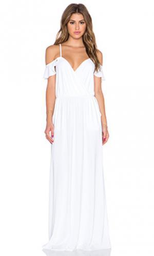 Платье T-Bags LosAngeles. Цвет: белый