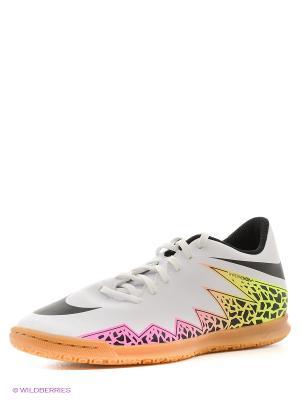 Кроссовки для зала HYPERVENOM PHADE II IC Nike. Цвет: белый