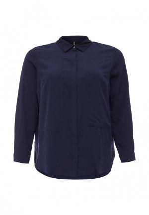Блуза Bestia Donna. Цвет: синий