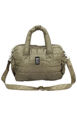 Дорожная сумка F 23. Цвет: bronze
